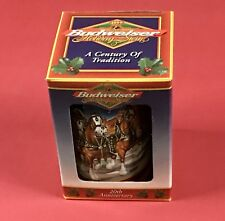 1999 Budweiser Holiday Beer Stein Wholesaler Special Issue in Box Scarce!
