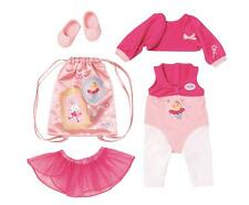 More details for baby born deluxe ballerina clothing outfit set for dolls