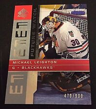 MICHAEL LEIGHTON 2002-03 Upper Deck SP Authentic FUTURE WATCH Rookie /900 HTF!!