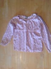 Pink Floral Top - Age 3-4 Years