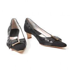 (SALE) GIVENCHY belt heel pumps Size 37 1/2(K-17375)