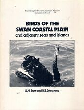 BIRDS of the SWAN COASTAL PLAIN & ADJACENT SEAS & ISLANDS western australia