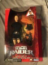 "Playmates Lara Croft Tomb Raider Combat Training Gear 12"" New"