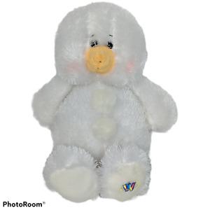 """Ganz Webkinz White Snowman Stuffed Animal Plush HM370 11.25"""""""