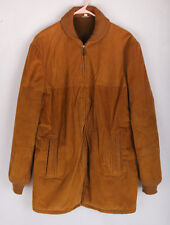 Vintage Corduroy Jacket with furry and quilted lining, Size 40, brown, clean