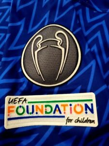 2021/22 CHELSEA FC CHAMPIONS LEAGUE FOOTBALL/SOCCER UCL WINNER PATCH SET