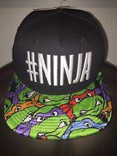 TEENAGE Mutant NINJA Turtles TMNT movie RAPHAEL Leo NEW Men's SNAPBACK HAT Cap