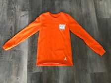 Nike Jordan Russell Westbrook Orange Why Not Basketball Shirt Men's Small