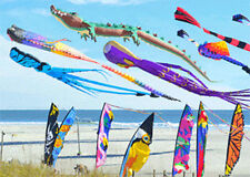 Flying Kites over the Beach -  3D Lenticular Postcard  Greeting Card