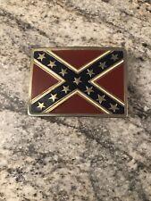 Vintage Southern Confederate States Belt Buckle