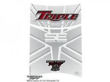 TRIUMPH SPEED TRIPLE Tank Pad WHITE (TT015U)