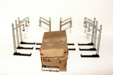 More details for 10 x marklin rare 407 m catenary masts in original box with interesting packing