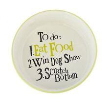 Comederos y bebederos de cerámica para perros