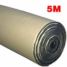5m Mousse Éponge Acoustique adhésif Voiture Insonorisation isolation 3mm