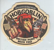 UNUSED BEERMAT - WYCHWOOD - HOBGOBLIN BRITISH PUBS NEED YOU  (Cat 035) - 2013