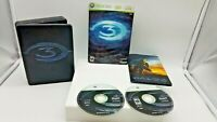 Halo 3 Limited Edition Microsoft Xbox 360 2007 2 Disc Steelbook Slipcover only