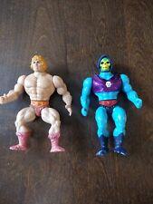 Vintage 1985 Skeletor MOTU  1981 Taiwan He-Man Action Figures *No Accessories