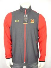 NWT UNDER ARMOUR MARYLAND TERRAPINS LOOSE FIT ALL SEASON GEAR JACKET MEN'S L