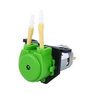 Peristaltic Pump, DC 12V Small Dosing Peristaltic Pump Metering Pump Hose Pump