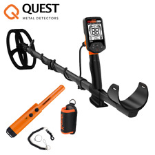 Quest Q20 Metalldetektor (Blade Spule) + Gratis Quest XPointer Orange