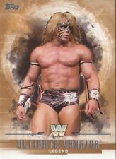 ULTIMATE WARRIOR  #'d/99  BRONZE PARALLEL 2017 Topps WWE Undisputed Card #70