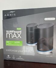 BRAND NEW Arris SURFboard mAX Plus Mesh AX Wifi Router System AC7800 - W130