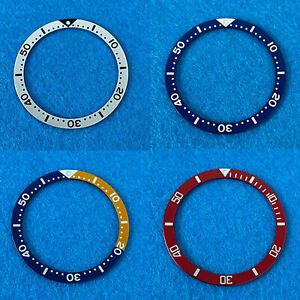 39mm*32mm Aluminum Flat Watch Bezel Insert Ring for Mens Watch Accessories
