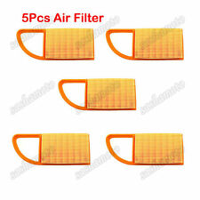 Air Filter 5pcs For STIHL BR500 BR550 BR600 Blowers 4282-141-0300 4282-141-0300B
