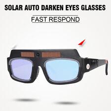 Solar Powered Auto Darkening Welding Mask Helmet Goggle Welder Glasses Arc