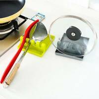 Küchenutensil Silikon Löffel Rest Suppe Löffel Halter Ständer Regal rutschfest