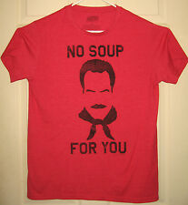 SEINFELD Shirt L 2013 No Soup For You Soup Nazi Constanza NYC NBC HTF RARE OOP
