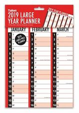 2019 Year Large Size Year Wall Planner Family Office Organiser Calendar 3819
