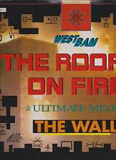 """Westbam-The Wall-the roof is on Fire 12"""" MAXI LP"""