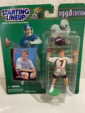 1998 Edition JOHN ELWAY Denver Broncos Starting Lineup NFL Figure Card