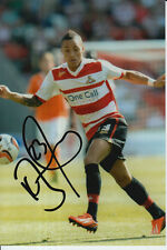 Doncaster Rovers mano firmado Kyle Bennett 6x4 Foto 1.