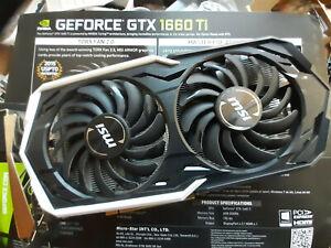 MSI GeForce GTX 1660 Ti 6GB ARMOR Boost Graphics Card