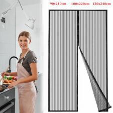 Fliegengitter Magnetisch Magnetvorhang Insektenschutz Tür Balkontür Schneidbar #