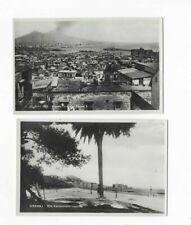 1660- 2 AK Napoli Panorama dal Corso V + Via Carracciolo
