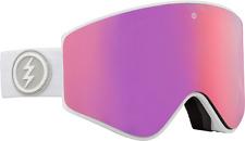 Electric, Goggle, EGX, Frame: Matte White, Lens: BROSE/PINK CHROME