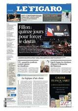 Le Figaro 10.4.2017 N°22602*FILLON/DESTIN*ART CONTEMPORAIN*SUÈDE*CAFÉ*VTC*TRUMP