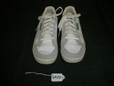 Men's Spikeless Ashworth White Leather Size 7 Sneaker Style Golf Shoes GA391