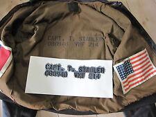 Pochoir f Veste du pilote Blouson de pilote A2 G1 US Army Marines USMC Vietnam