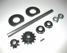 "Go Kart/Minibike Complete Jackshaft Kit 5/8"" X 10"" Brand New. 40/41 CHAIN.USA!"