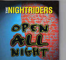 The Nightriders-Open All Night cd single