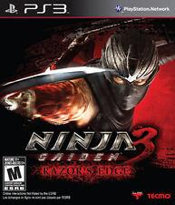 PLAYSTATION 3 NINJA GAIDEN 3 RAZOR'S EDGE BRAND NEW VIDEO GAME