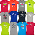 Hollister T-shirts Womens Bettys Random Lot of 5 Mixed Surfing Co Graphic Tees