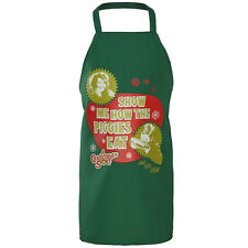 A CHRISTMAS STORY Show Me How The Piggies Eat APRON Randy PINAFORE Ralphie CHEF