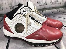 Rare Nike Air Jordan Mens Basketball Sneakers Shoes Black Red Sz 11.5