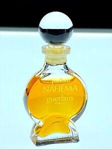 "Guerlain Nahema Parfum Extract 2.3 ml 98% Full 2 2/8"" Tall Ships Free!"