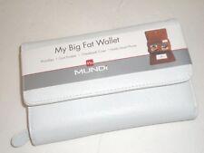 My Big Fat White Out  Checkbook Wallet, Mundi
